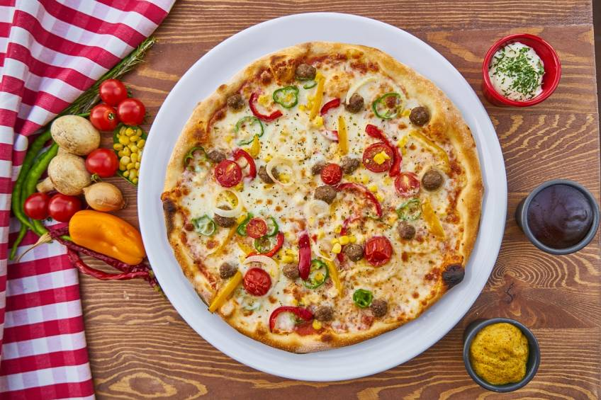Breakfast Pizza or Bagels