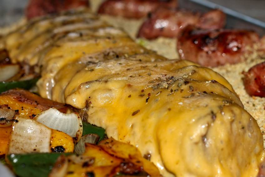 Grilled Shrimp or Grilled Steak Fajita Party