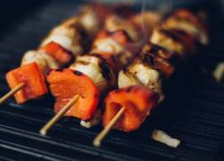 Grilled Shrimp or Grilled Chicken Kabobs