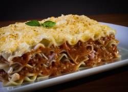 Meatless Baked Lasagna, Chef Salad & Stromboli